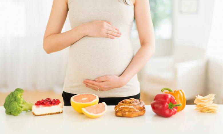 النظام الغذائي أثناء الحمل