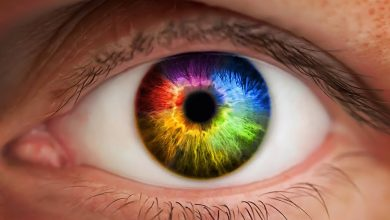 صورة لون عين الطفل : هل هو اللون النهائي؟
